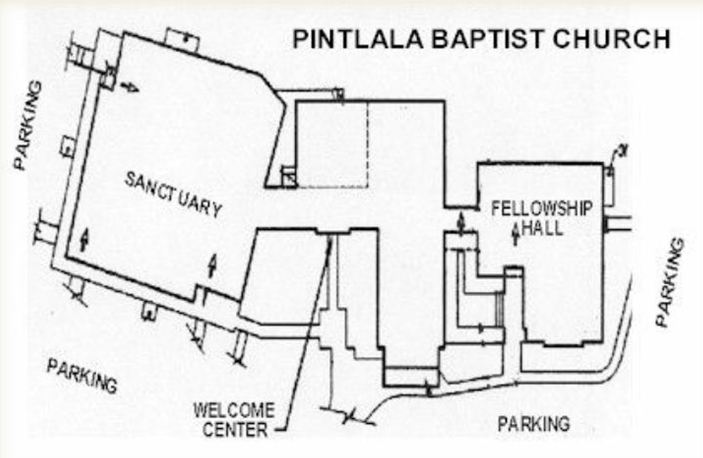 Pintlala Baptist Church Map